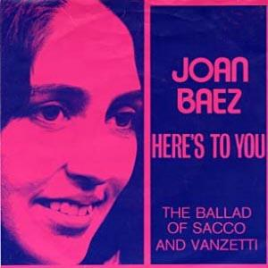 Joan Baez Here's To You cover art