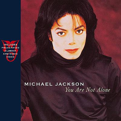 Michael Jackson You Are Not Alone cover art