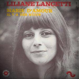Liliane Lancetti Marie D'Amour cover art