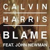 Blame (feat. John Newman) sheet music by Calvin Harris