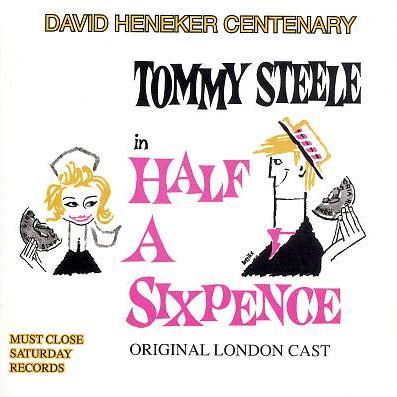 David Heneker Half A Sixpence cover art