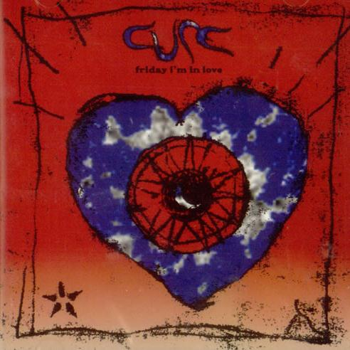 The Cure Friday I'm In Love cover art