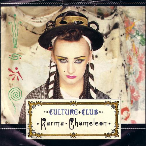 Culture Club Karma Chameleon cover art