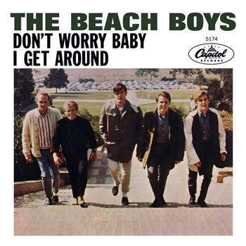 The Beach Boys Don't Worry Baby cover art