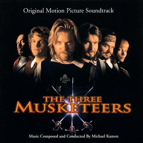 Michael Kamen The Three Musketeers (D'Artagnan (Galliard & Air)) cover art