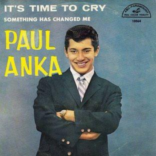 Paul Anka Time To Cry cover art