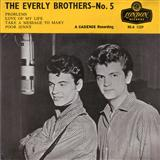 Problems sheet music by The Everly Brothers