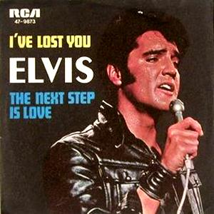 Elvis Presley I've Lost You cover art