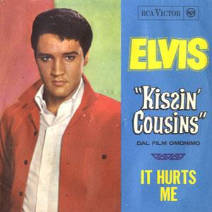 Elvis Presley It Hurts Me cover art