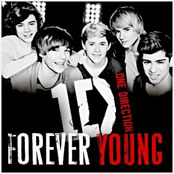 One Direction Forever Young cover art