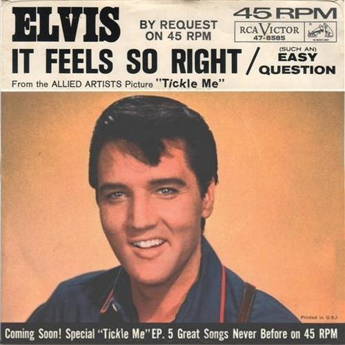 Elvis Presley It Feels So Right cover art