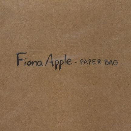 Fiona Apple Paper Bag cover art