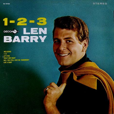 Len Barry One, Two, Three cover art