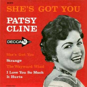 Patsy Cline Strange cover art