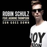 Sun Goes Down (feat. Jasmine Thompson) sheet music by Robin Schulz