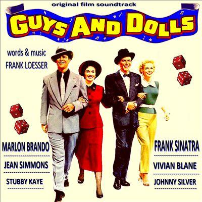 Frank Loesser Luck Be A Lady (from 'Guys and Dolls') cover art