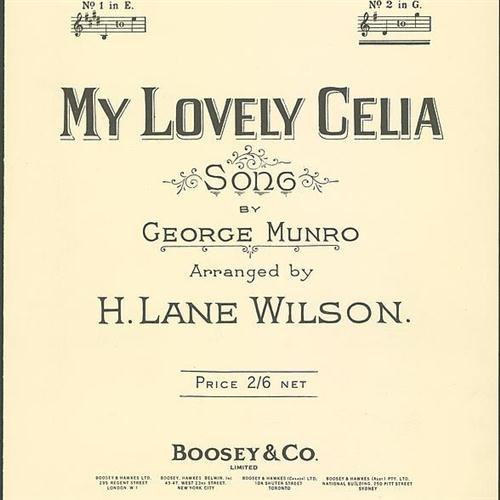 George Munro My Lovely Celia cover art