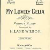 My Lovely Celia sheet music by George Munro