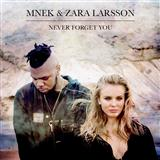 Never Forget You sheet music by MNEK & Zara Larsson