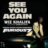 See You Again (feat. Charlie Puth) sheet music by Wiz Khalifa