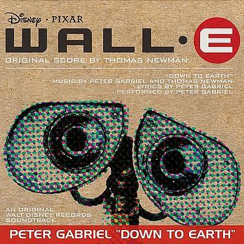 Peter Gabriel Down To Earth (from 'WALL•E') cover art