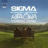 Coming Home (feat. Rita Ora) sheet music by Sigma