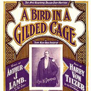 Maurice J. Gunsky A Bird In A Gilded Cage cover art
