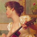 Amanda - Gavotte sheet music by Alberto C. Obregon