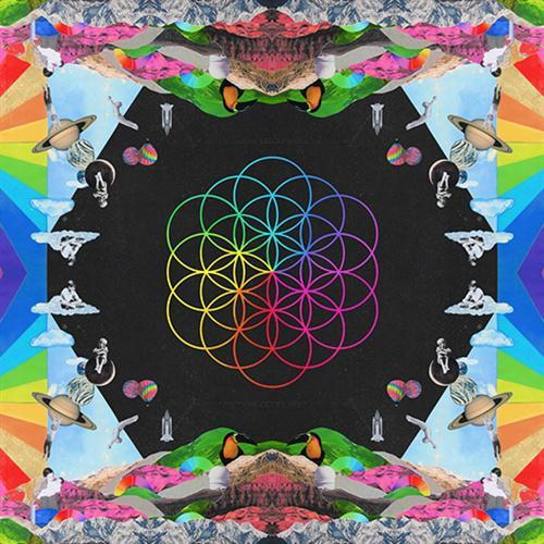 Coldplay Colour Spectrum cover art
