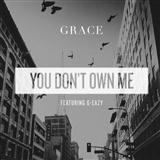 You Don't Own Me (feat. G-Eazy) sheet music by Grace