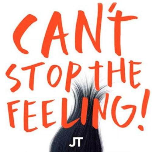 Justin Timberlake Can't Stop The Feeling cover art