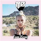 Final Song sheet music by MØ