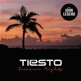 Summer Nights (feat. John Legend) sheet music by Tiesto