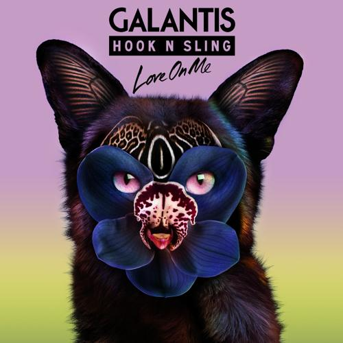 Galantis Love On Me cover art