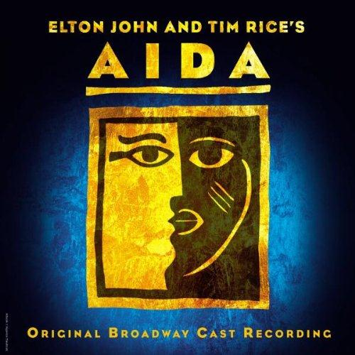Elton John The Past Is Another Land (from Aida) cover art
