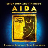 The Past Is Another Land (from Aida) sheet music by Elton John