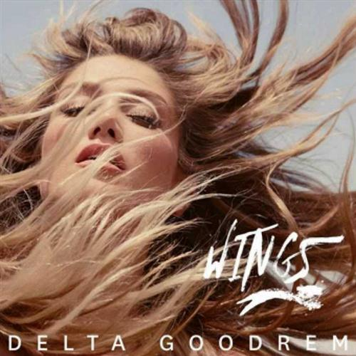 Delta Goodrem Wings cover art