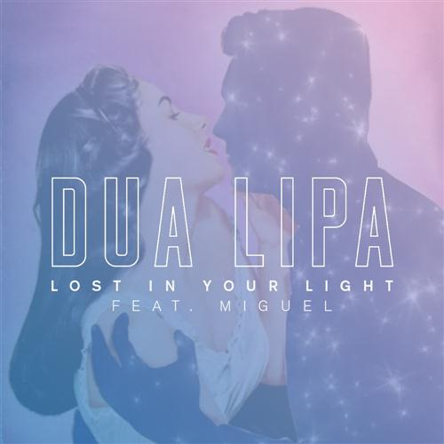 Dua Lipa Lost In Your Light (feat. Miguel) cover art