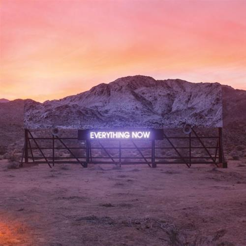Arcade Fire Everything Now cover art