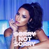Sorry Not Sorry Partituras Digitais