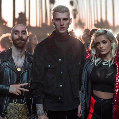Machine Gun Kelly Home (feat. X Ambassadors & Bebe Rexha) cover art
