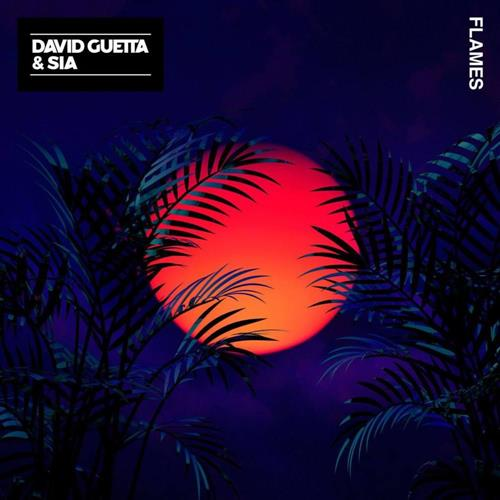 David Guetta & Sia Flames cover art