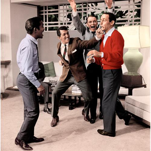 Dean Martin, Sammy Davis Jr Frank Sinatra Ain't That A Kick In The Head cover art