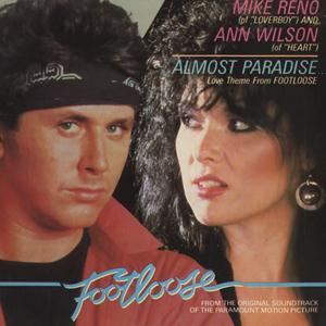 Ann Wilson & Mike Reno Almost Paradise (from Footloose) cover art