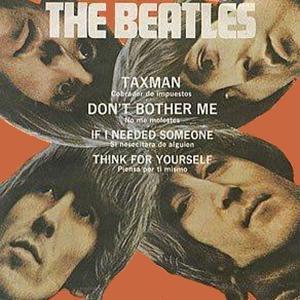 The Beatles Taxman cover art