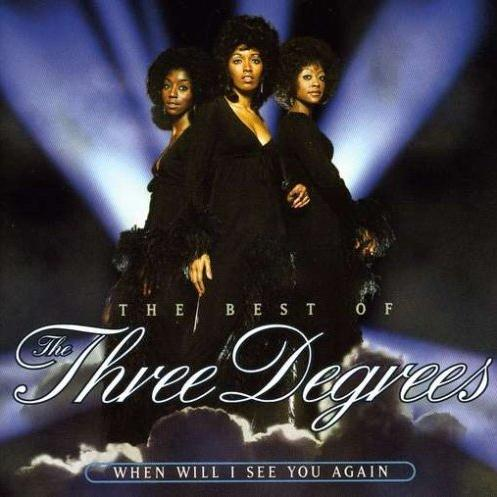 Three Degrees When Will I See You Again? cover art
