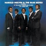 Don't Leave Me This Way sheet music by Harold Melvin & The Blue Notes