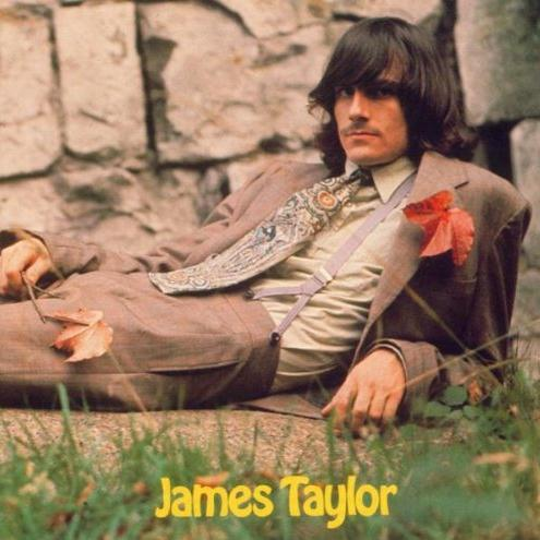 James Taylor Carolina In My Mind cover art