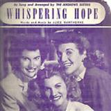 Whispering Hope Sheet Music