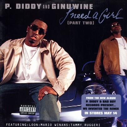 P. Diddy & Ginuwine I Need A Girl (Part Two) (feat. Loon, Mario Winans & Tammy Ruggieri) cover art
